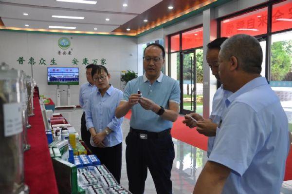 集团公司党委委员、副总经理张世俊对bob手机版下载公司进行调研指导